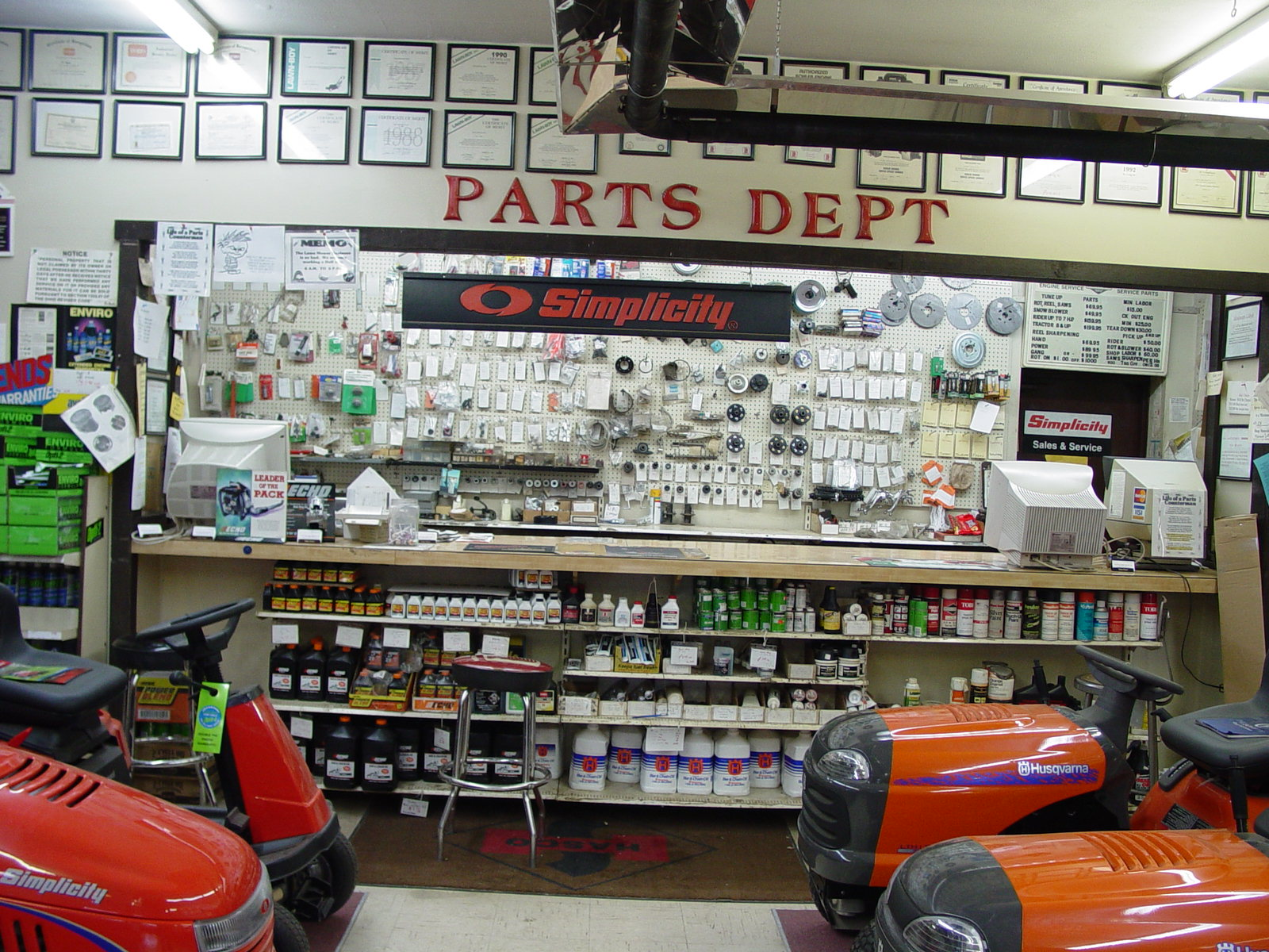 Parts Department Medina OH