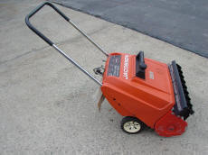 Used snow blower